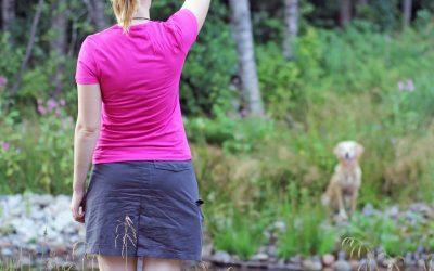 Grunder för stoppsignal och jaktfot