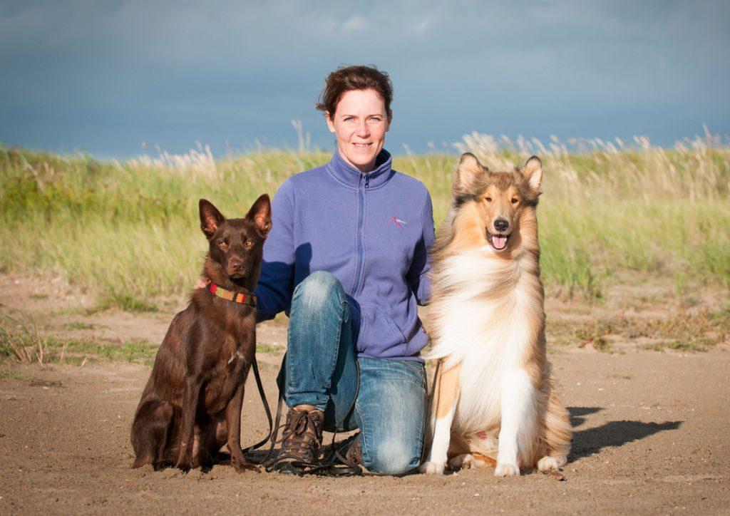 Annika och hennes hundar