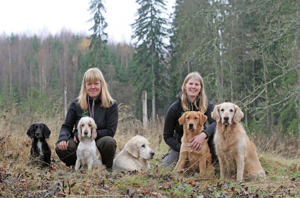 Pressrelease: De utmanar amerikanska hundvärlden med ny bok om positiv jakthundsträning.